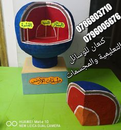 مجسم طبقات الارض Science Experiments Kids Kid Experiments Education