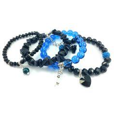 Bransoletka kamienie Noc Kairu gruba sieczka Bracelets, Jewelry, Fashion, Malachite, Bangle Bracelets, Jewellery Making, Moda, Jewerly, Jewelery