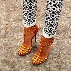 Emmy DE * Zara Studded Sandals