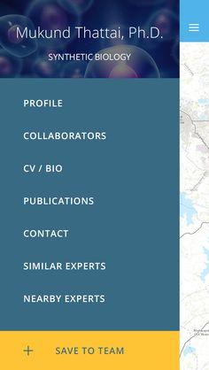 Expert menu #mobile #ui #ux #design #inspiration #navigation #app #interface…