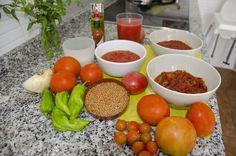 Varias maneras de elaborar el tomate frito y su conservación. #LasRecetasdelHortelano