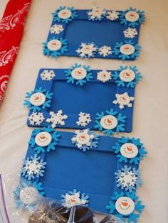 Frozen birthday party acitivity! See more party planning ideas at CatchMyParty.com!