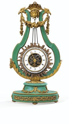A GILT-BRONZE MOUNTED PORCELAIN CLOCK IN LOUIS XVI STYLE, 19TH CENTURY  Sotheby's