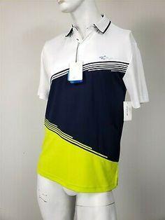 Greg Norman, Polo Shirt White, Orange Shorts, Lacoste Men, Golf Shirts, Mens Xl, Short Sleeve Tee, Adidas Jacket, Nike Men