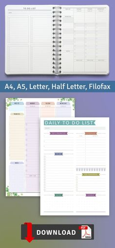 To Do List Layouts template is strict and simple in design. A more productive you start here! You can download in PDF format in A4, A5, letter size and half letter size or use with Notability, Goodnotes, Noteshelf and Xodo for your iPad or Android tablet. #to-do #template #layouts #layout #weekly To Do Planner, Goals Planner, Planner Pages, Happy Planner, List Template, Planner Template, Printable Planner, Printables, Templates