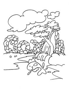 Make the Earth a clean place to live coloring page   Download Free ...