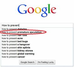 How to prevent ejaculating quickly