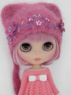 Blythe Doll! I had one of these! Loved to make her eyes change color!