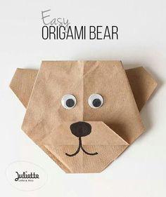 Super leuke beer van koffiefilters!