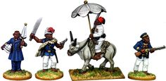 Classy African Gents                                      .We manufacture over 20,000 28mm miniatures!