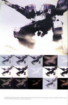 Metal Gear Solid Concept Art - Metal Gear Rex Concept Art