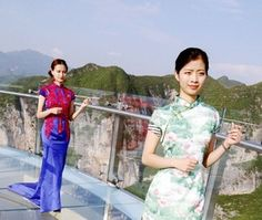 الصين تفتح أكبر ممر زجاجي في العالم.. شاهد الصور  #Tourist #Travel #سياحة #سفر #القيادي #Alqiyady