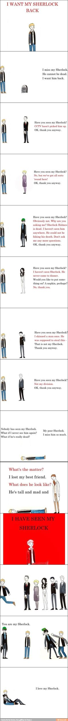 Have you seen my Sherlock?