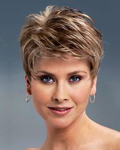 Today we have the most stylish 86 Cute Short Pixie Haircuts. We claim that you have never seen such elegant and eye-catching short hairstyles before. Pixie haircut, of course, offers a lot of options for the hair of the ladies'… Continue Reading → Medium Thin Hair, Short Thin Hair, Short Grey Hair, Short Wedding Hair, Short Hair Cuts For Women, Short Blonde, Gray Hair, Short Pixie Haircuts, Cute Hairstyles For Short Hair