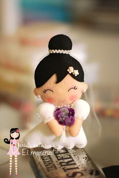 I'd love to make one of these looking like me on my wedding day, for my darling hubby.