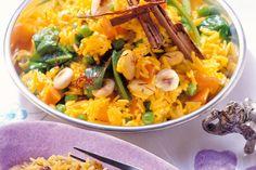 Gewürzreis mit Gemüse - Rezept bei So schmeckt's