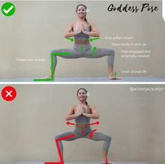 Yoga - Goddess Pose