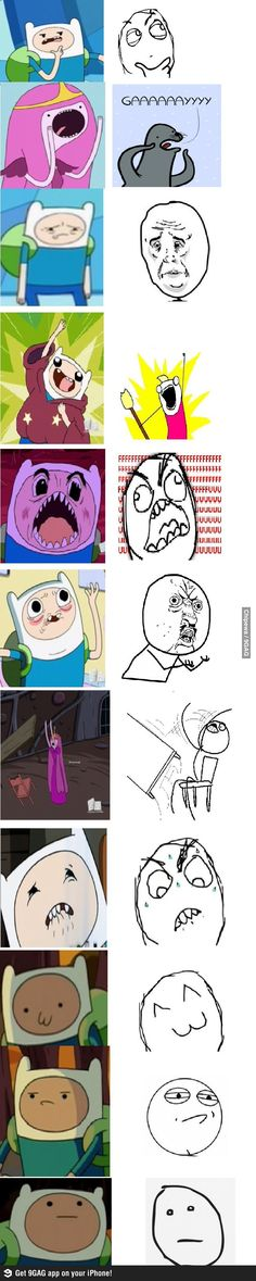 Memes in Adventure Time. Hahaha