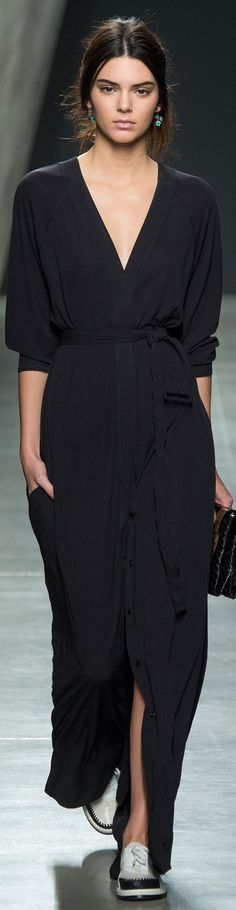 Kendall Jenner | Bottega Veneta Collection Spring 2015 #Kendall_Jenner #Fashion #Women_Style