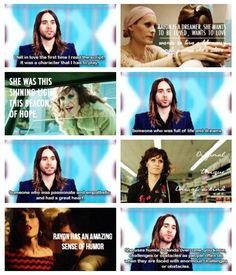 About Rayon. Dallas Buyers Club, Beacon Of Hope, Want To Be Loved, The Script, Jared Leto, The Dreamers, Actresses, Actors, Star