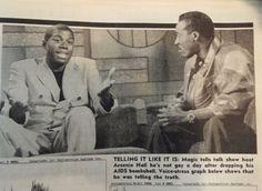 Magic Johnson on Arsenio Hall