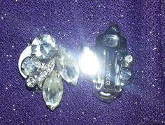 Eisenberg Ice clip on earrings.