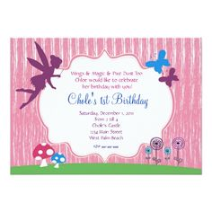 120 Best Butterfly Birthday Invitations Images Birthday Party