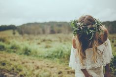Styled Shoot: Shelter from the Storm / Carly Brown Photography / Dress by Daughters of Simone / See the full styled shoot now on The LANE