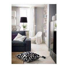 KAJSA TRÄD  Cushion cover, black, white