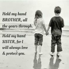 The only hand, a girl can hold without hesitation is her Brother | Brother and Sister are Best Friends