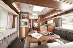 Der Maestro (540 E) bietet einen Innenraum der keine Wünsche offen lässt. #Caravan #mobilehome #Münsterland #LMC