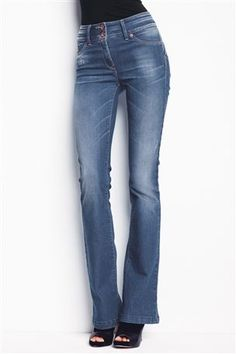 Buy Sexy High Waist Boot Cut Jeans from the Next UK online shop