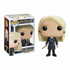 Vinyl Figure at Mighty Ape NZ. Your favourite characters from Harry Potter are adorable Pop! This Harry Potter Luna Lovegood Pop! Vinyl Figure features the Ravenclaw. Dobby Harry Potter, Harry Potter Pop Vinyl, Objet Harry Potter, Harry Potter Disney, Harry Potter Films, Severus Snape, Draco Malfoy, Hermione, Pop Vinyl Figures