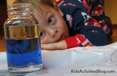 5 Easy Science Experiments: Hands On Science  - Science Experiments can meet a whole variety of therapy goals...conversation, critical thinking, following directions and more!   - Pinned by @PediaStaff – Please Visit  ht.ly/63sNt for all our pediatric therapy pins