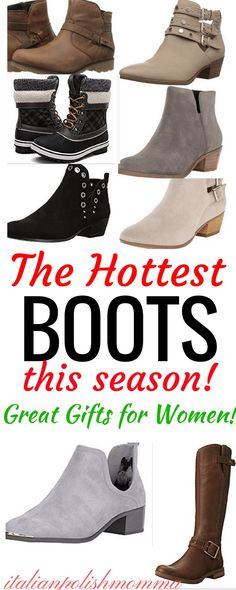 Hottest Boots This Season! Here are the best boots for women this fall/winter season! Perfect for the busy mom who is chasing toddlers and running all over the place on the weekends! These warm fall boots are comfy yet stylish enough to last you all through the winter season! Best Boots for women you can find! These boots make the perfect gifts for women! #bootsforwomen #boots #giftsforwomen #winter #fashion #style #womensfashion