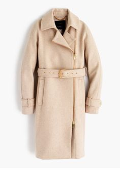 J. Crew has the best coats! Classic  & can be dressed up or down.