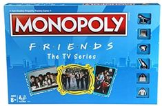 Amazon.com: MONOPOLY: Friends The TV Series Edition Board Game for Ages 8 and Up; Game for Friends Fans (Amazon Exclusive) : Toys & Games Friends Moments, Friends Show, True Friends, Funny Friends, Pivot Friends, Monica And Chandler, Monopoly Game, Question Game, Iconic Characters