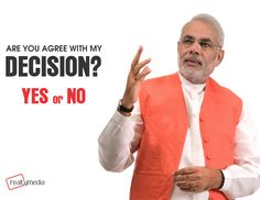 Do you agree with PM for demonetisation decision ?  #realtymedia