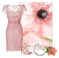 """Wedding in pink"" by nonanana ❤ liked on Polyvore featuring Emilio Pucci and Bling Jewelry"