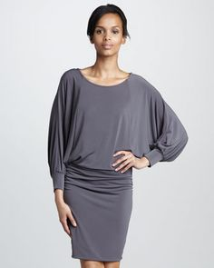 Blouson Jersey Dress by Graham & Spencer at Neiman Marcus. Neiman Marcus Dresses, Top Luxury Brands, Contemporary Dresses, Latest Fashion Dresses, Graham Spencer, Luxury Branding, Designer Dresses, Style Inspiration, My Style