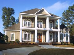 Prentiss Manor Colonial Home Plan 024S-0023 | House Plans and More