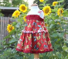 Baby to Tween Matching Sister Dresses Sizes 3 6 9 by BerryPatchUSA, $46.00