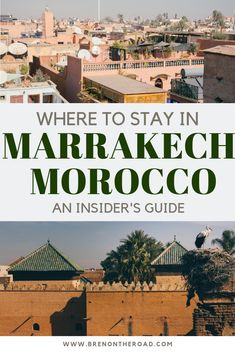 The best Marrakech travel guide. Enjoy Morocco #marrakech #morocco
