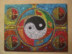 Aboriginal Dreams Of Yin And Yang by Marc Sevigny