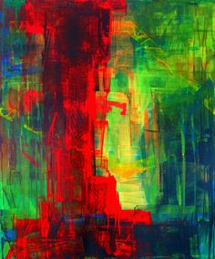 "Michael J Masata alias Pigmento; Acrylic, Painting """"Ouverture au monde"" """