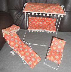 OLD BARBIE Gartenmöbel pro fandy SI PŘEČTĚTE | eBay
