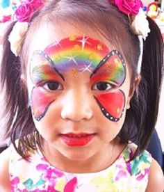 Professional FACE PAINTING for kids. Cover all events. Servicing Toronto Ontario Canada - Get FREE Quote. Visit our page to view our face painting gallery. Face Painting Images, Face Painting Designs, Paint Designs, Butterfly Face Paint, Rainbow Butterfly, Professional Face Paint, Painting Gallery, Painting For Kids, Best Part Of Me