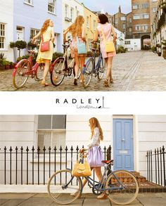 Radley Collaborations with Pashley bicycles
