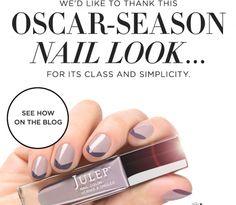 Easy Oscar DIY Nails