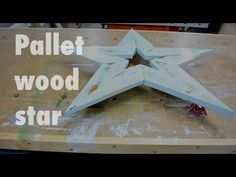 my channel awaits U here ● https://www.youtube.com/user/chrisnotap Make this large wooden star out of scrap wood or pallet wood. Very rustic and easy to cons...